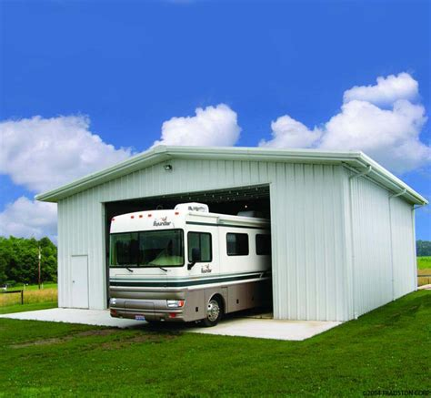 Garage For Rv by Rv Storage Buildings Metal Rv Garages Prefab Building Kits