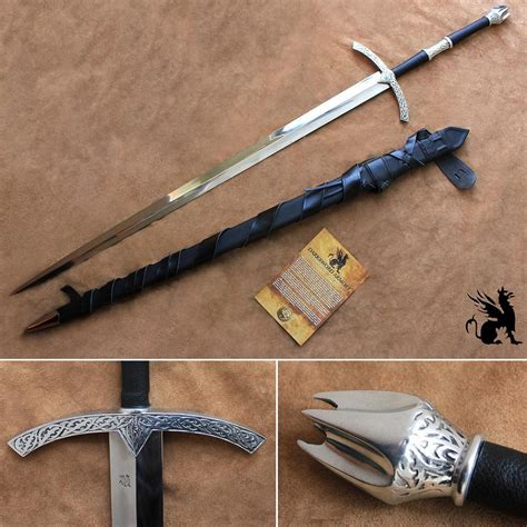 ring sword the witchking sword lord of the rings