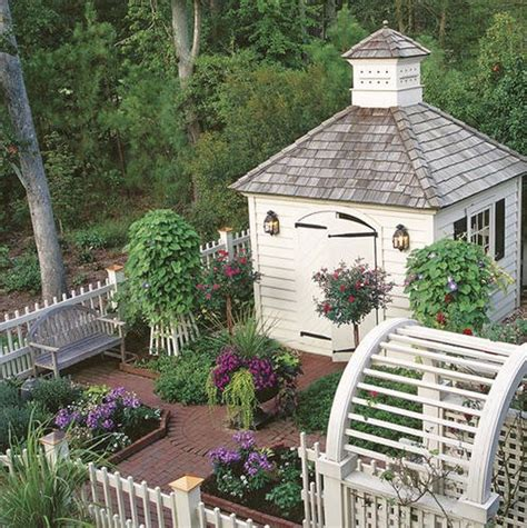 Charming Garden Sheds by Pre Fab Garden Shed Rivah House