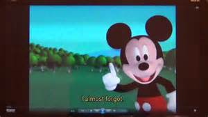 Mickey mouse clubhouse mickey treat watch mickey mouse clubhouse