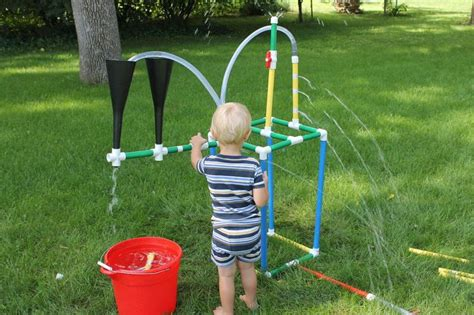 pvc sprinkler water toy tinker sprinkler toys sprinklers and for kids