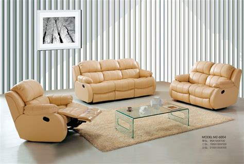 cheap leather reclining sofa sets hotsale leather sofa set recliner sofa set different