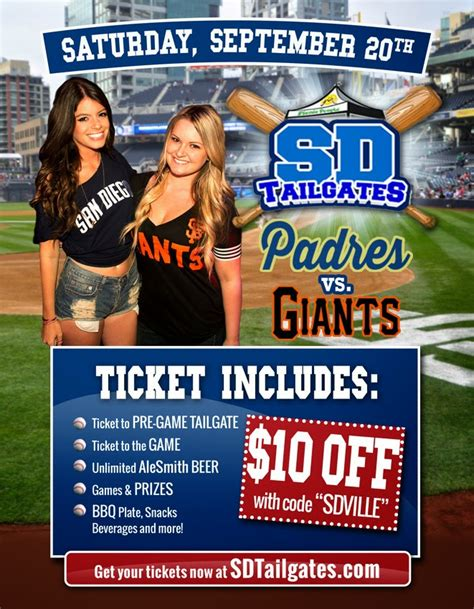 Padres Saturday Giveaways - sandiegoville win passes and save on the ultimate tailgate experience at padres last
