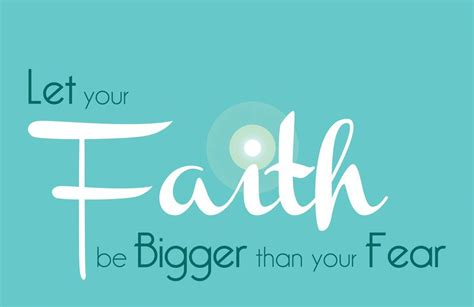 let your faith be bigger than your fear tattoo let your faith be bigger than your fear