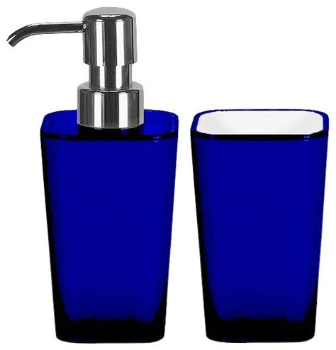 contemporary bathroom accessory sets bathroom accessories set 2 pieces liquid soap dispenser