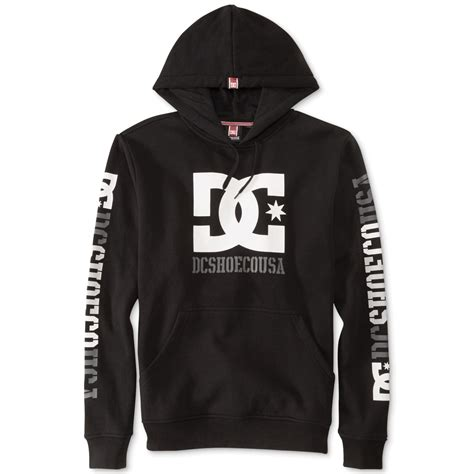 Vest Hoodie Dc Usa Lyq7 dc shoes rob dyrdek usa 2 pullover hoodie in black for lyst
