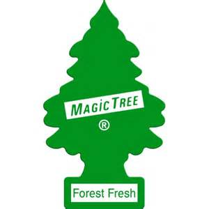 Magic Tree Air Freshener Tree Bullseye Car Parts Trees Forrest Fresh Air Freshener