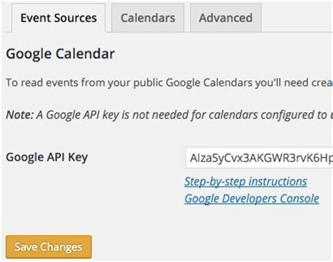 Calendar Api Key Creating A Api Key Simple Calendar Documentation