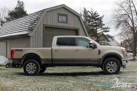 2017 ford f 250 super duty king ranch crew cab 4x4 review