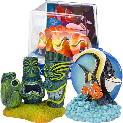 finding nemo ornaments nemo gil aquarium ornament set