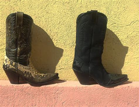 cowboy boots shoe repair and modifications high heel place