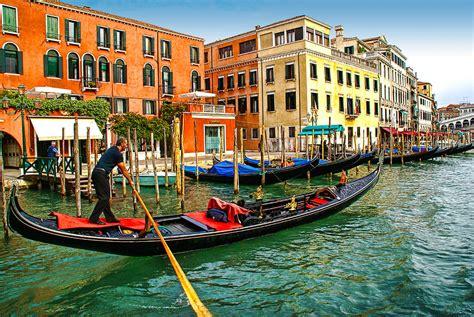 gondola boat porto gondola grand canal venice photograph by anselmo albert torres