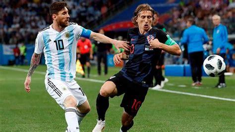 croacia golea a la argentina de leo messi por 3 0 the