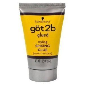 best spiking gel amazon com schwarzkopf got2b glued spiking glue 1 25 oz