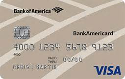 business credit card bank of america bankamericard 174 credit card from bank of america