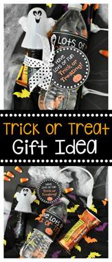 treat gifts trick or treat gift idea the crafting