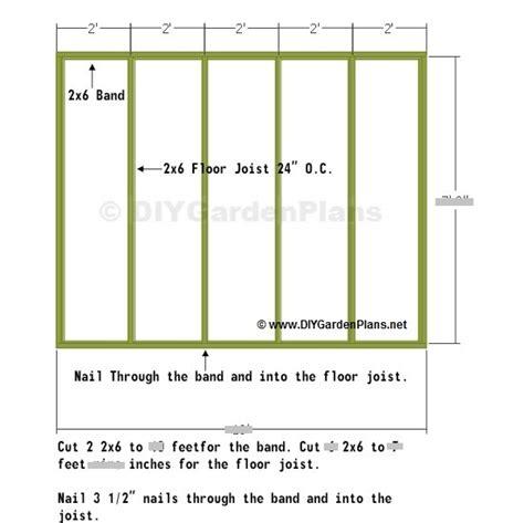 shed floor plan 8x10 shed floor plan nolaya