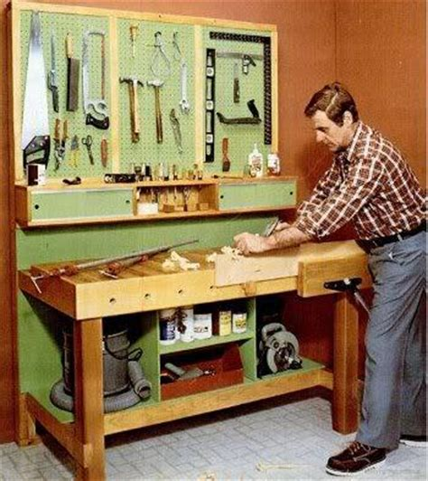 mechanic bench workbench plans popular mechanics wooden door plans diy