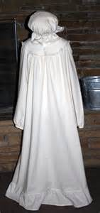 historical night gown little house on the prairie by