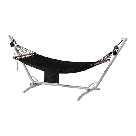 ikea hammock g 197 r 214 fred 214 n hammock with stand gray black ikea