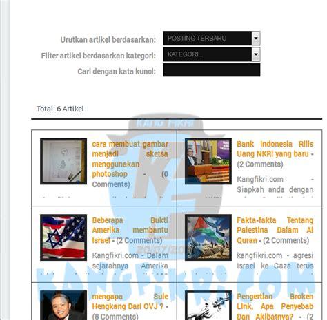 membuat blog full responsive cara membuat daftar isi blog responsive blog kang fikri