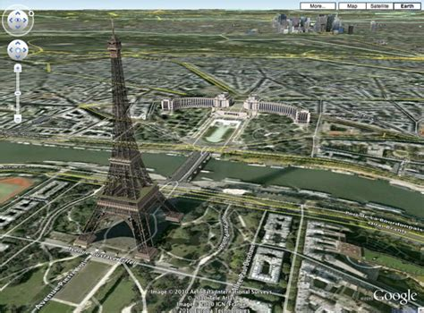 google images eiffel tower google maps now with 3d earth view 171 web appstorm