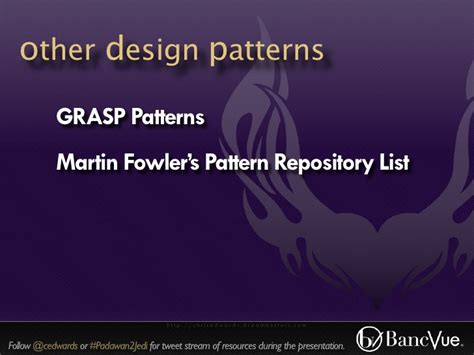 repository pattern martin fowler padawan2jedi a developer jump start austin code c 2011