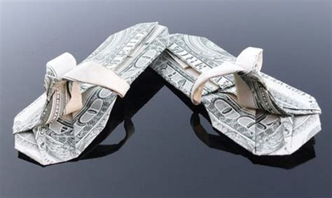 2 Dollar Bill Origami - gorgeous dollar bill origami 35 pics picture 27