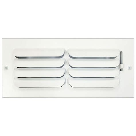 speedi grille 4 in x 10 in ceiling or wall register with
