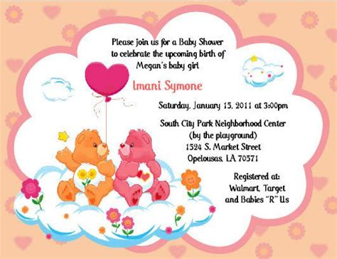 care baby shower invitations 53 best images about care invitations on