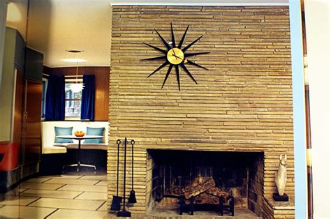 Mid Century Modern Fireplace time to cozy it up modern nc homes for sale