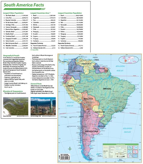kappa map south america continent map with facts kappa map