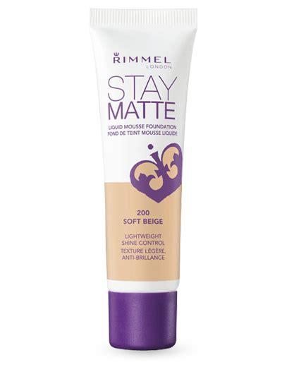 Rimmel Stay Matte Foundation Review rimmel stay matte foundation review
