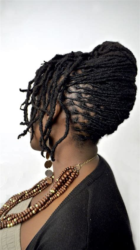 french roll short dreads a french twist is one of my favorite styles especially on
