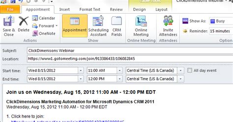 make outlook calendar event add an outlook calendar event to an email template