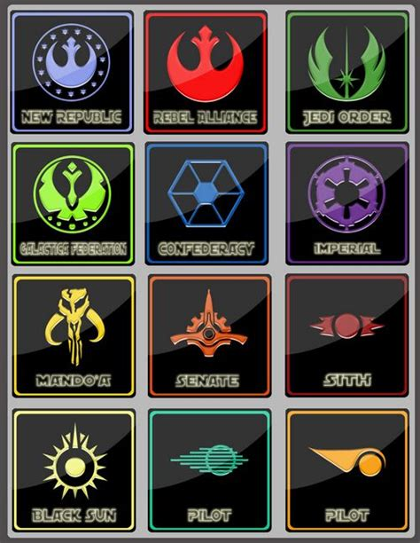 33 best logos insignia images on starwars wars insignia scotty s geekery