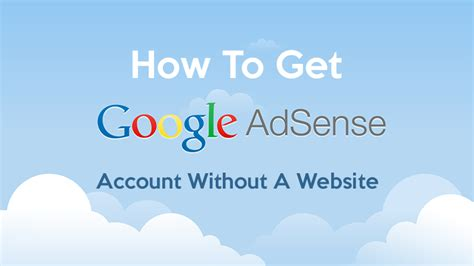adsense without website or blog how to make money with adsense without website howsto co
