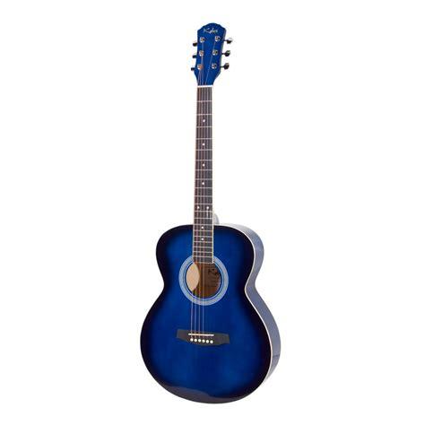 blue song guitar kalos ogp 40bb size concert blue guitar pack ogp