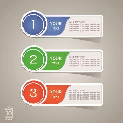 Design Label Sticker   colored sticker label design vector free vector in