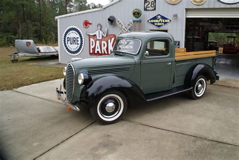 1938 Ford Truck by Collectible Vintage 1938 Ford Stepside Truck In