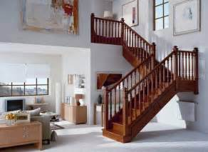 Interior Wood Stair Railing by Stair Designs Interior Beautiful Pictures Photos Of