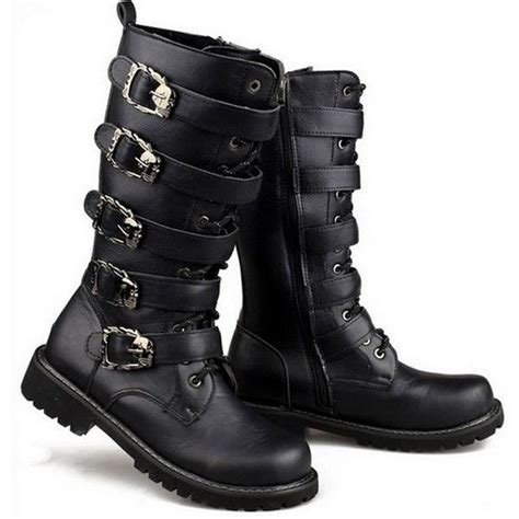 mens black leather biker boots best 25 biker boots ideas on mens biker