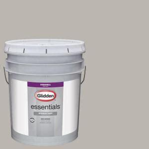 glidden essentials 5 gal hdgcn50 candlestick silver eggshell interior paint hdgcn50e 05en