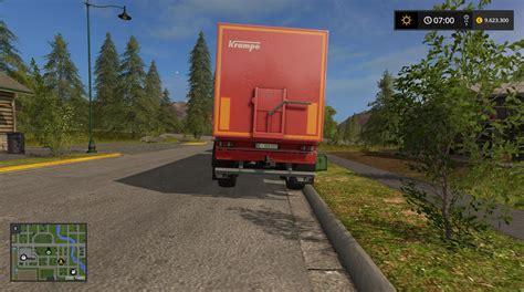 tandem kre sb 30 60 trailer mod for farming simulator tandem kre sb 30 60 trailer v1 0 fs17 farming