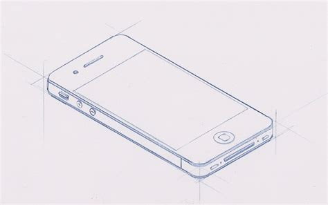 I Phone Sketches how to draw iphone 4