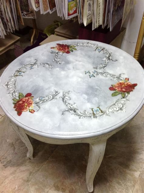 Furniture Decoupage Paper - 120 best images about decoupage tables on
