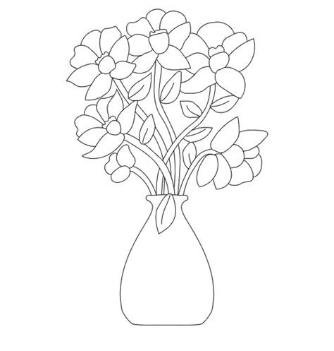 colours drawing wallpaper beautiful and lovely vase