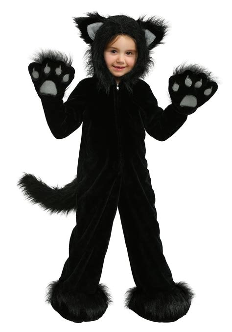 cat costumes premium black cat costume for children