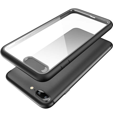 Indoscreen Iphone 7 Plus Free Ag Back Anti Anti Shock for iphone 7 8 plus slim hybrid tpu bumper shockproof clear back cover ebay