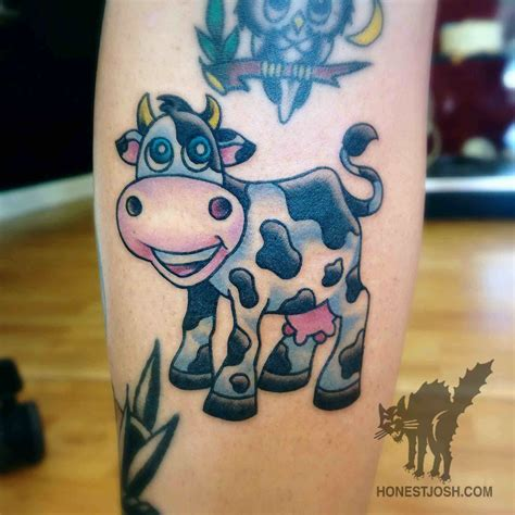 cow tattoo 50 mind blowing cow tattoos